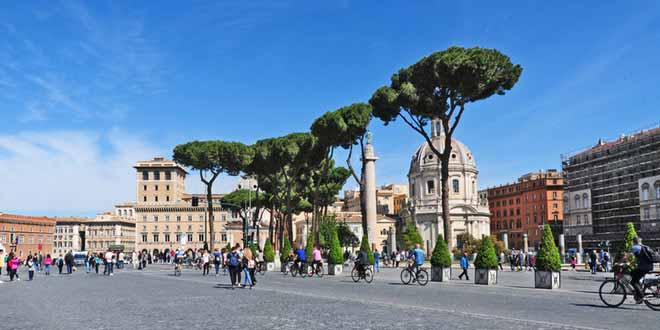 how to get around in rome